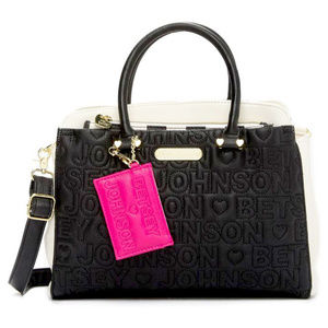 Betsey Johnson Triple Entry Satchel with Pouch